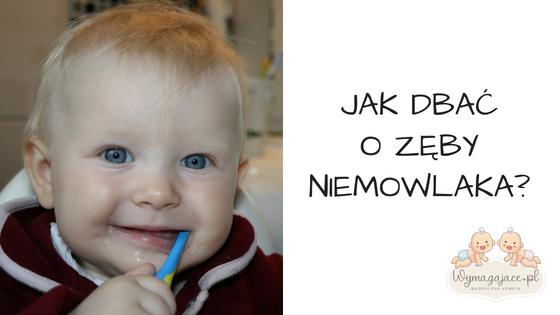 jak dbać o zęby niemowlaka