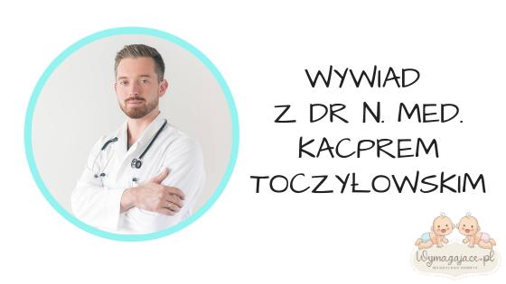 COVID-19 u dzieci. Wywiad z dr n. med. Kacprem Toczyłowskim